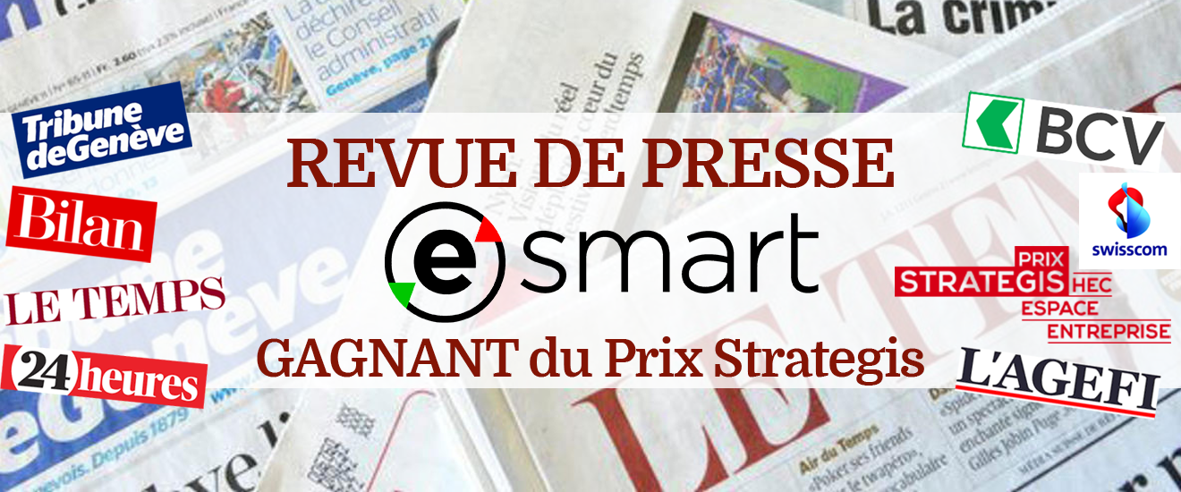 esmart gagne le prix strategis 2015 revue de presse esmart. Black Bedroom Furniture Sets. Home Design Ideas