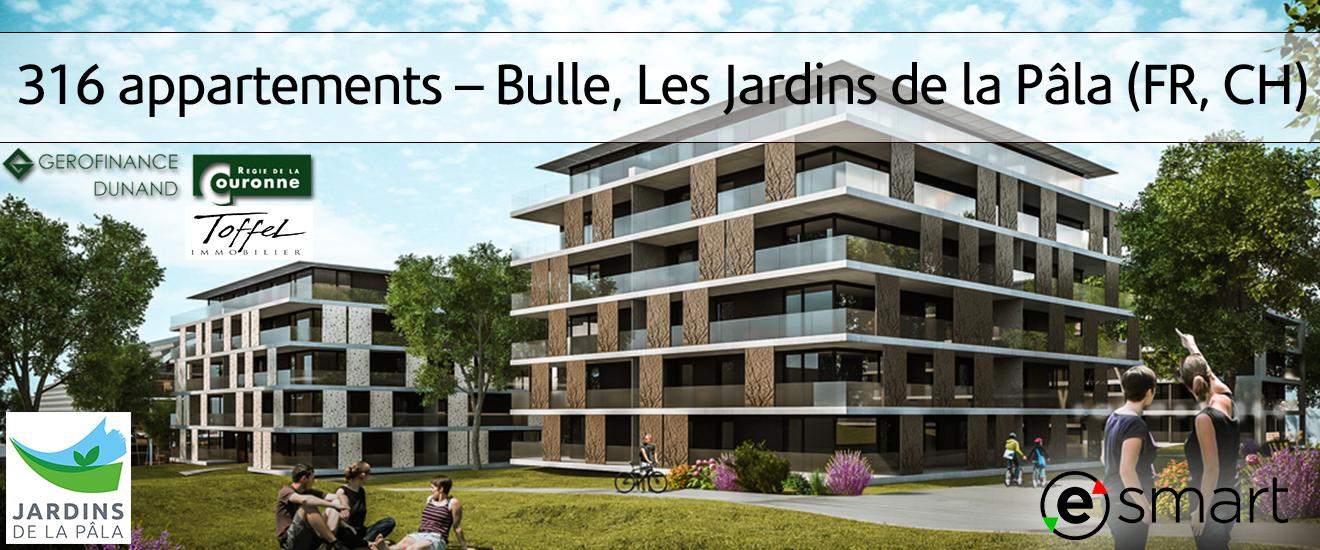 316 Appartements Bulle Les Jardins De La Pala Fr Ch