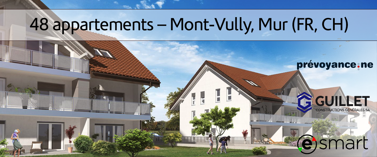eSMART 48 appartements Mont Vully